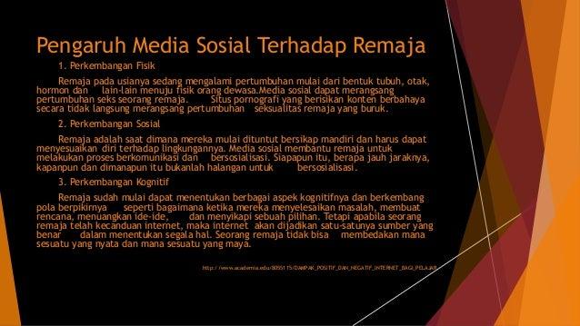 Dampak terhadap penyalahgunaan media sosial terhadap kalangan pelajar