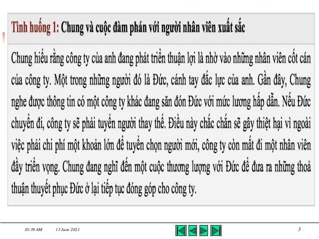 Kỹ năng thương lượng - TS Châu Đình Linh Slide 3