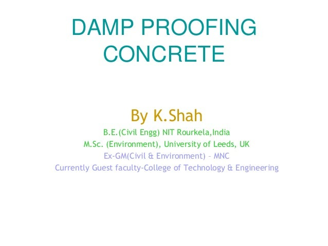 Damp proof course (dpc) -methods of dpc installation.
