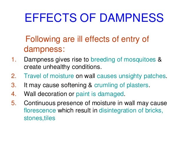 Methods of damp proofing | civil engineering.