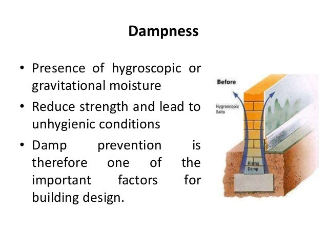 Damp penetration prevention