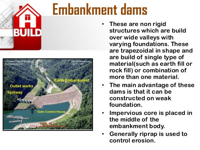 Example  •Ujani Dam, also known as Bhima Dam or Bhima Irrigation Project, on the Bhima River, a tributary of the Krishna R...