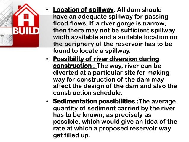 2. Faults: Dams founded on the fault zones are most liable to the shocks during an earthquake. Generally the small scale f...
