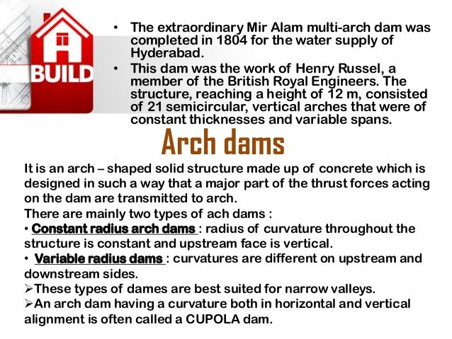 Embankment dams  •These are non rigid structures which are build over wide valleys with varying foundations. These are tra...