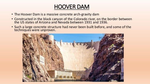Case Study on the Hoover Dam