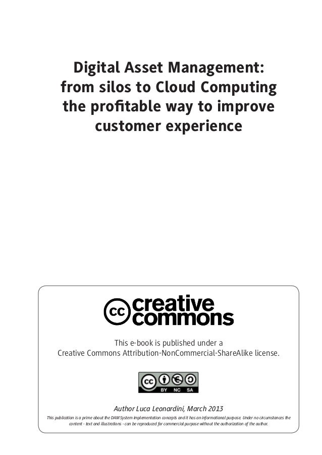 Digital Asset Management From Silos To Cloud Puting The Profitabl…
