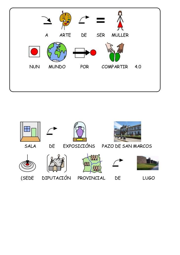 A        ARTE    DE     SER   MULLER   NUN        MUNDO       POR      COMPARTIR     4.0 SALA         DE    EXPOSICIÓNS   ...