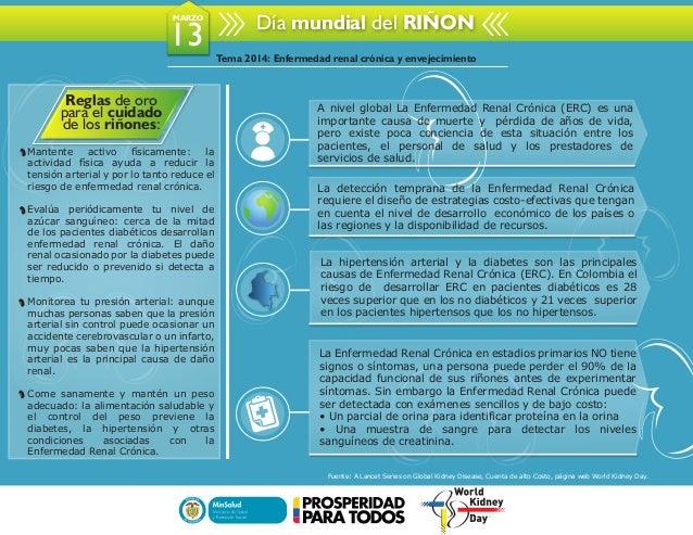 Libertad y Orden Día mundial del RIÑONMARZO 13 Reglas de oro para el cuidado de los riñones: Mantente activo físicamente: ...