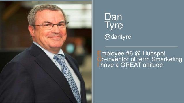 INBOUND Bold Talks: Dan Tyre Slide 2