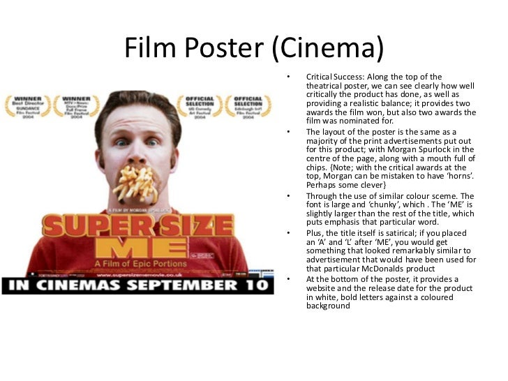 "essay about the movie supersize me The failure of rogerian argument in ""super size me."