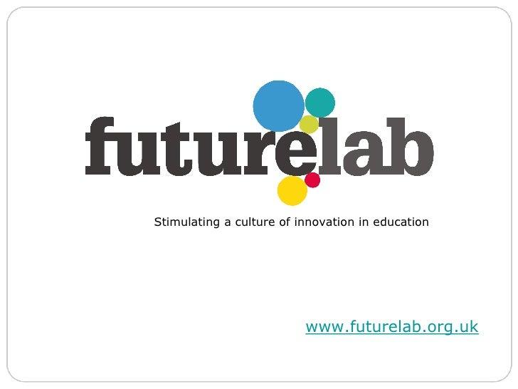 Dan Sutch & Lyndsay Grant, Futurelab Slide 2