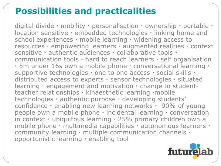 Dan Sutch & Lyndsay Grant, Futurelab Slide 3
