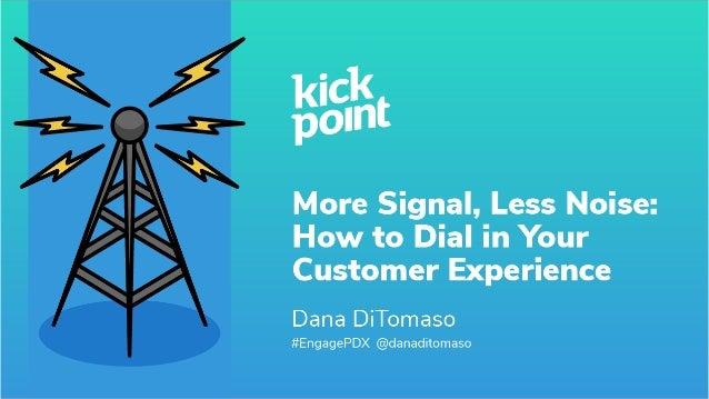 #EngagePDX @danaditomaso Title slide