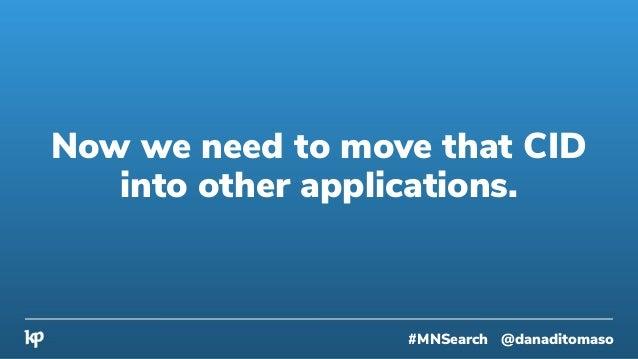 All you need is Zapier. #MNSearch @danaditomaso