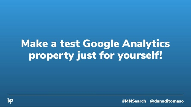 Thinking back to your goal charter, what do you need to include in the report? #MNSearch @danaditomaso
