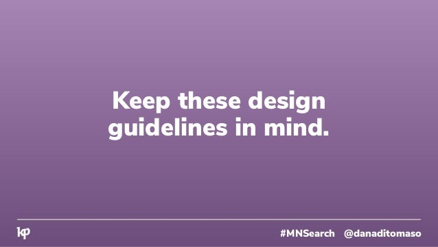 Now you can spend your time on what matters. #MNSearch @danaditomaso