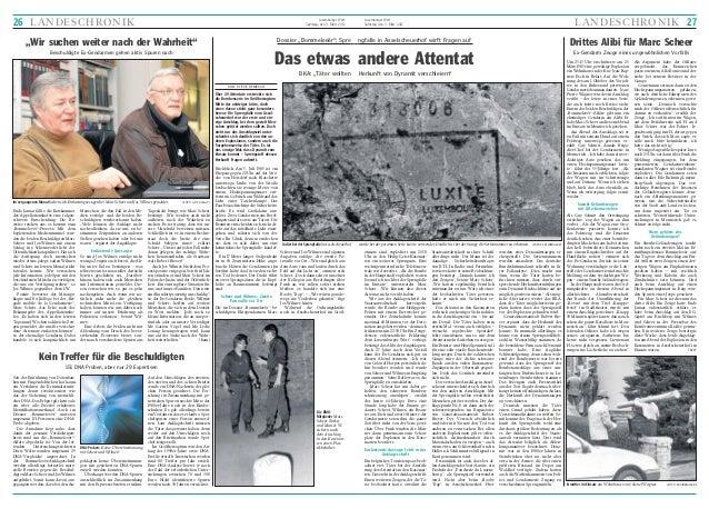 """26 LANDESCHRONIK  Luxemburger Wort Samstag, den 3. März 2012  Dossier """"Bommeleeër"""": Spre  """"Wir suchen weiter nach der Wahr..."""