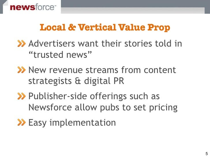 """Advertisers want their stories told in """"trusted news"""" New revenue streams from content strategists & digital PR Publisher-..."""