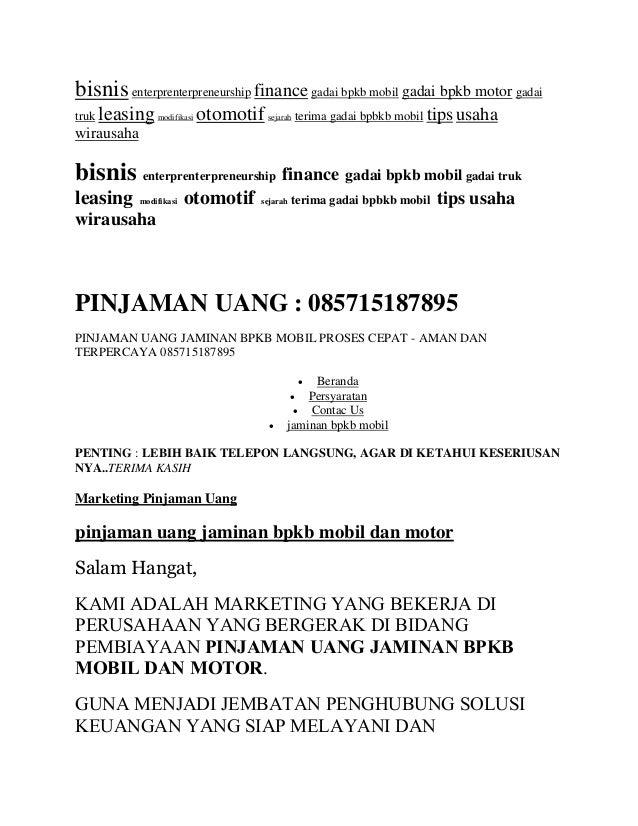 Dana Tunai 087888011156