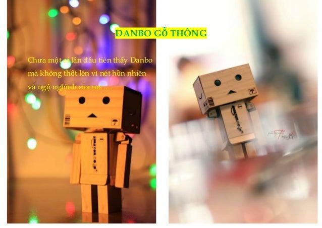 DANBO GỖ THÔNG  Chưa một ai lần đầu tiên thấy Danbo  mà không thốt lên vì nét hồn nhiên  và ngộ nghĩnh của nó…..