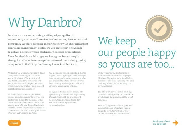 Take a look at our agency brochure  Slide 2