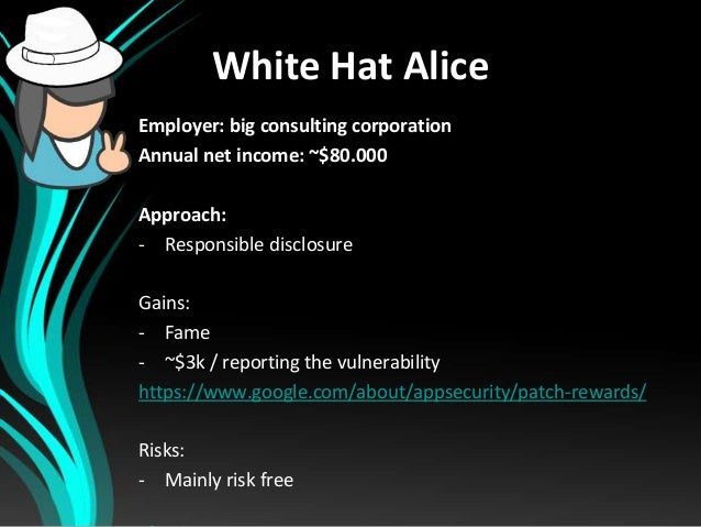 Defcamp 2013 - Does it pay to be a blackhat hacker