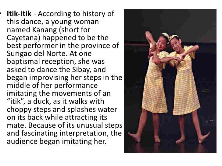 itik itik dance literature