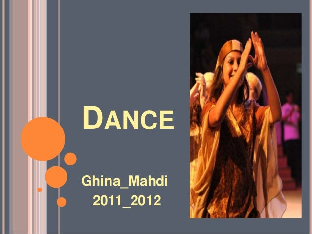 DANCE Ghina_Mahdi 2011_2012