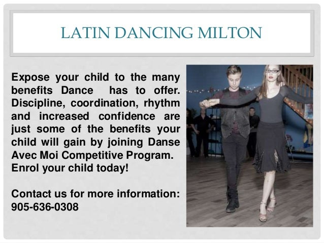 LATIN DANCING MILTON Expose your child to the many benefits Dance has to offer. Discipline, coordination, rhythm and incre...