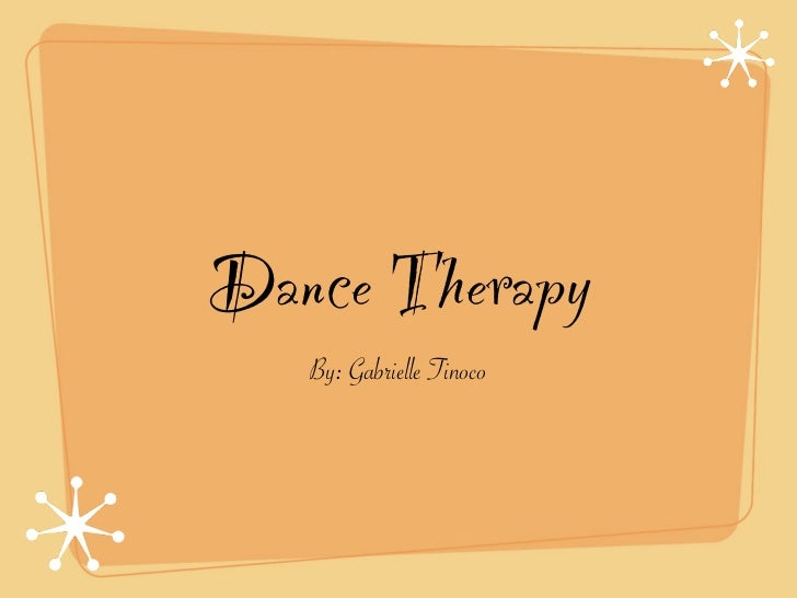 dance therapy essay African american adolescents at risk: their stories revealed through dance/movement therapy alicia marie williams columbia college - chicago.