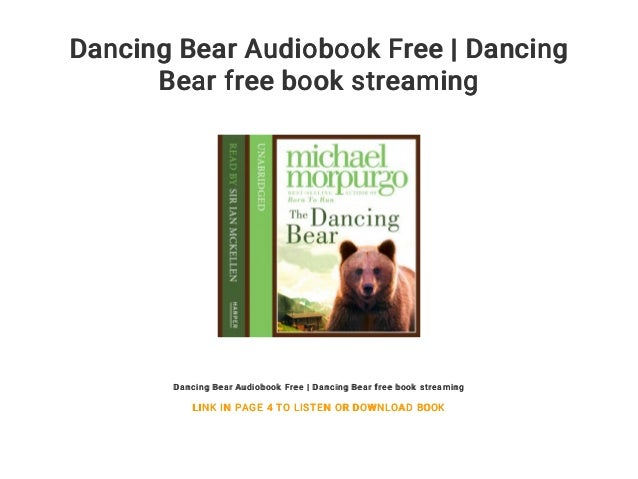 Dancing bear pics