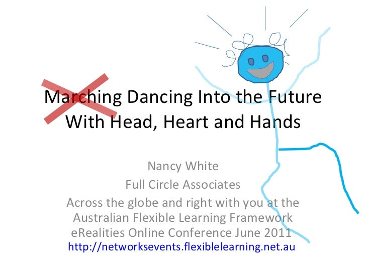 Marching Dancing Into the Future With Head, Heart and Hands Nancy White Full Circle Associates Across the globe and right ...