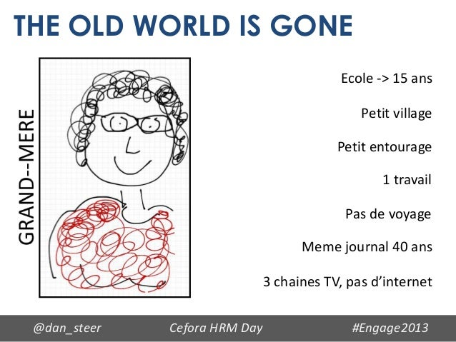 THE OLD WORLD IS GONE                                           Ecole -> 15 ans                                           ...