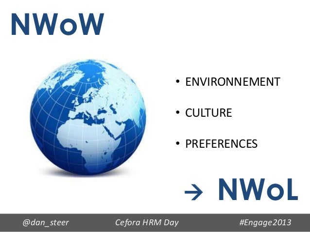 NWoW                          • ENVIRONNEMENT                          • CULTURE                          • PREFERENCES   ...
