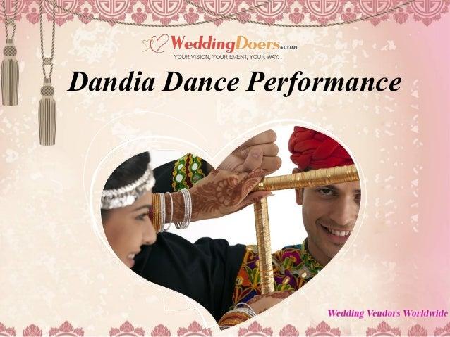 Dandia Dance Performance