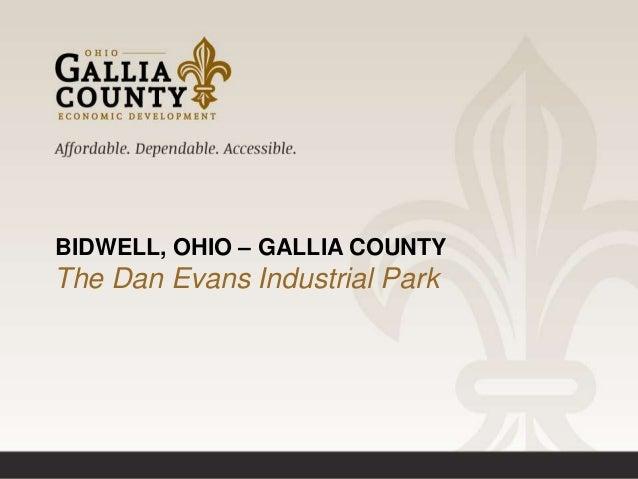 Dan Evans Industrial Park Gallia County Ohio