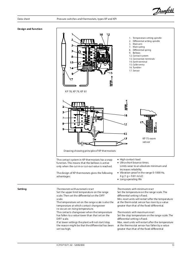 Danfoss Oil Pressure Switch Wiring Diagram - Somurich.com on