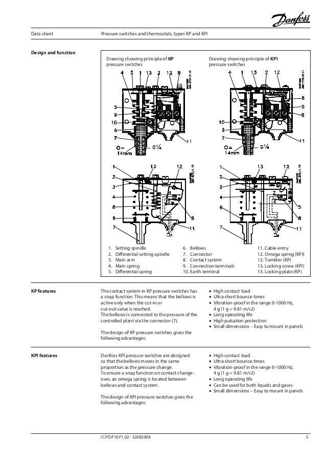 danfoss kpi 7 638?cb=1383613206 คู่มือการใช้งาน danfoss รุ่น kpi danfoss pressure switch wiring diagram at soozxer.org