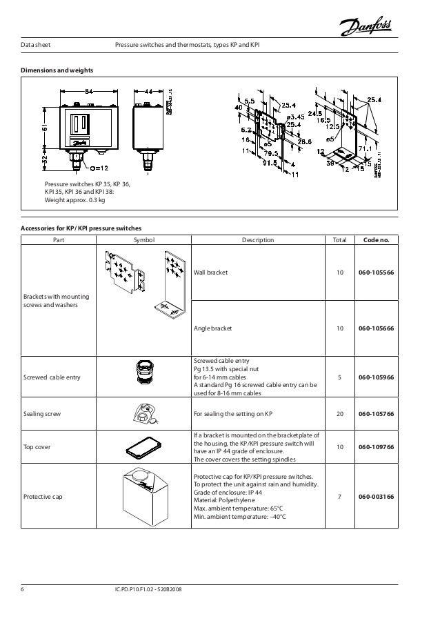 danfoss kpi 8 638?cb=1383613206 คู่มือการใช้งาน danfoss รุ่น kpi danfoss pressure switch wiring diagram at bayanpartner.co