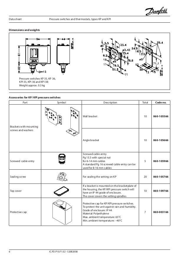 danfoss kpi 8 638?cb=1383613206 คู่มือการใช้งาน danfoss รุ่น kpi danfoss pressure switch wiring diagram at soozxer.org