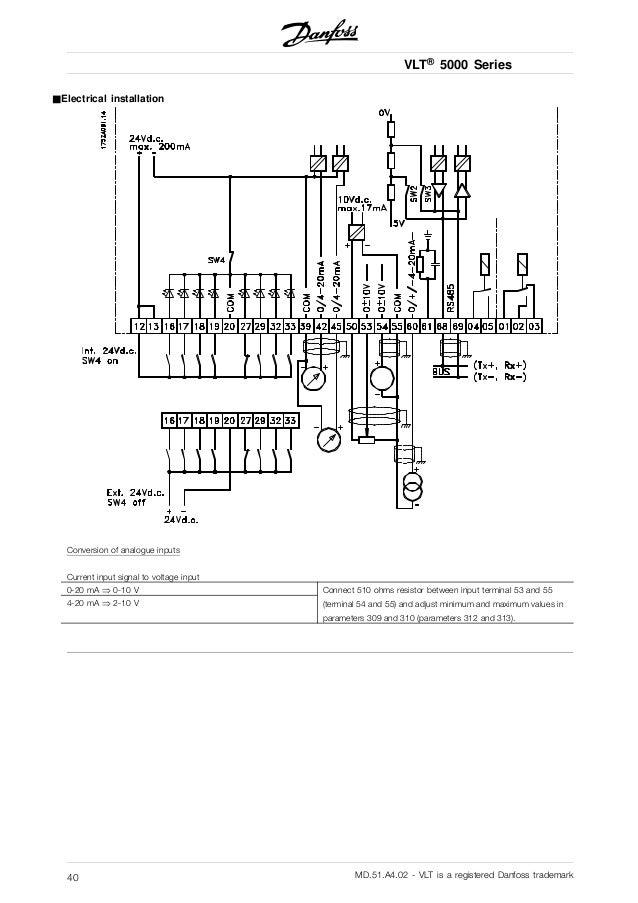Danfoss Vfd Wiring Diagrams - Online Schematic Diagram •