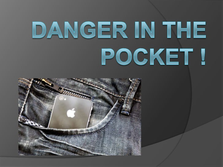 They had no pockets…