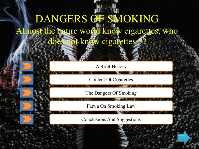 Bahaya Merokok Dangers Of Smoking
