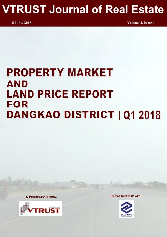 Property Market and Land Price Report Q1 2018 - Dangkao District