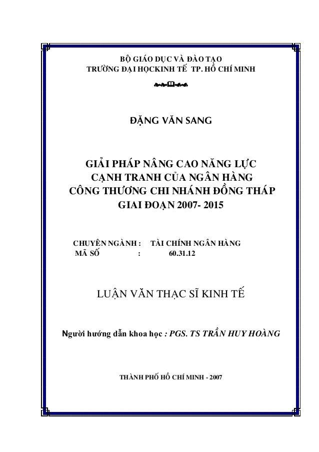 BOÄ GIAÙO DUÏC VAØ ÑAØO TAÏO TRÖÔØNG ÑAÏI HOÏCKINH TEÁ TP. HOÀ CHÍ MINH ÑAËNG VAÊN SANG GIAÛI PHAÙP NAÂNG CAO NAÊNG LÖÏC C...