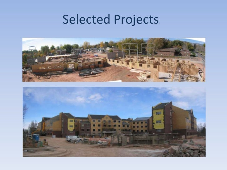 Selected Projects