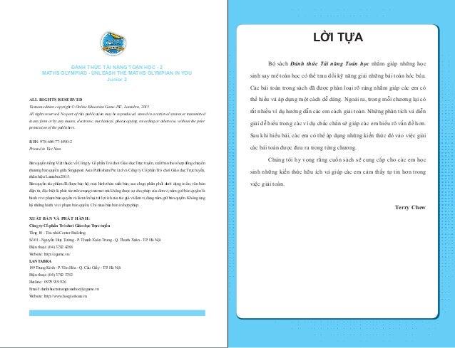 Đánh thức tài năng toán học - Quyển 2 (8-9 tuổi) | Sách toán song ngữ Slide 2