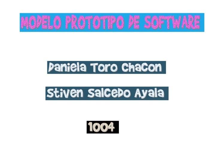 El Modelo de prototipos, en ingeniería del software, pertenece a los modelos de desarrollo evolutivo. El     prototipo deb...
