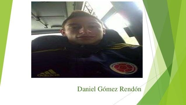 Daniel Gómez Rendón