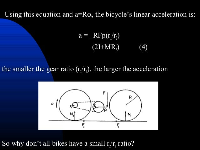 acceleration of a geared system theory